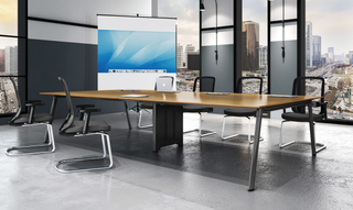 Modern Design Metal Durable Office Table (HC-101)