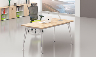 I Type Plywood Office Computer Home Table (HC-85)