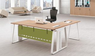 Latest Design L Shaped Office Executive Desk Table (HC-79)