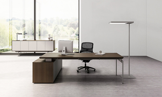 Oswald--xl Luxury Soild Wood Office Furniture Executive Desk Manager Table