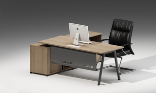 Steel Furniture Wooden Office Executive Table (HC-101)