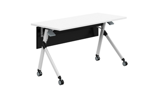 Height Adjustable Movable Lecture Training Study Office Table (HC-03E)